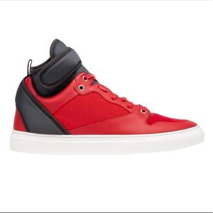 Balenciaga Multimaterial Neoprene High Sneakers